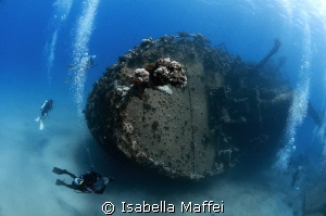 &quot;ABU GUSUM WRECK&quot; by Isabella Maffei 